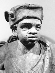 Gable decoration African boy, ca. 1700