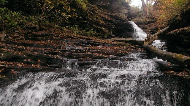 Huron Falls, Falls Trail, Ricketts Glen State Park  10/14/2013