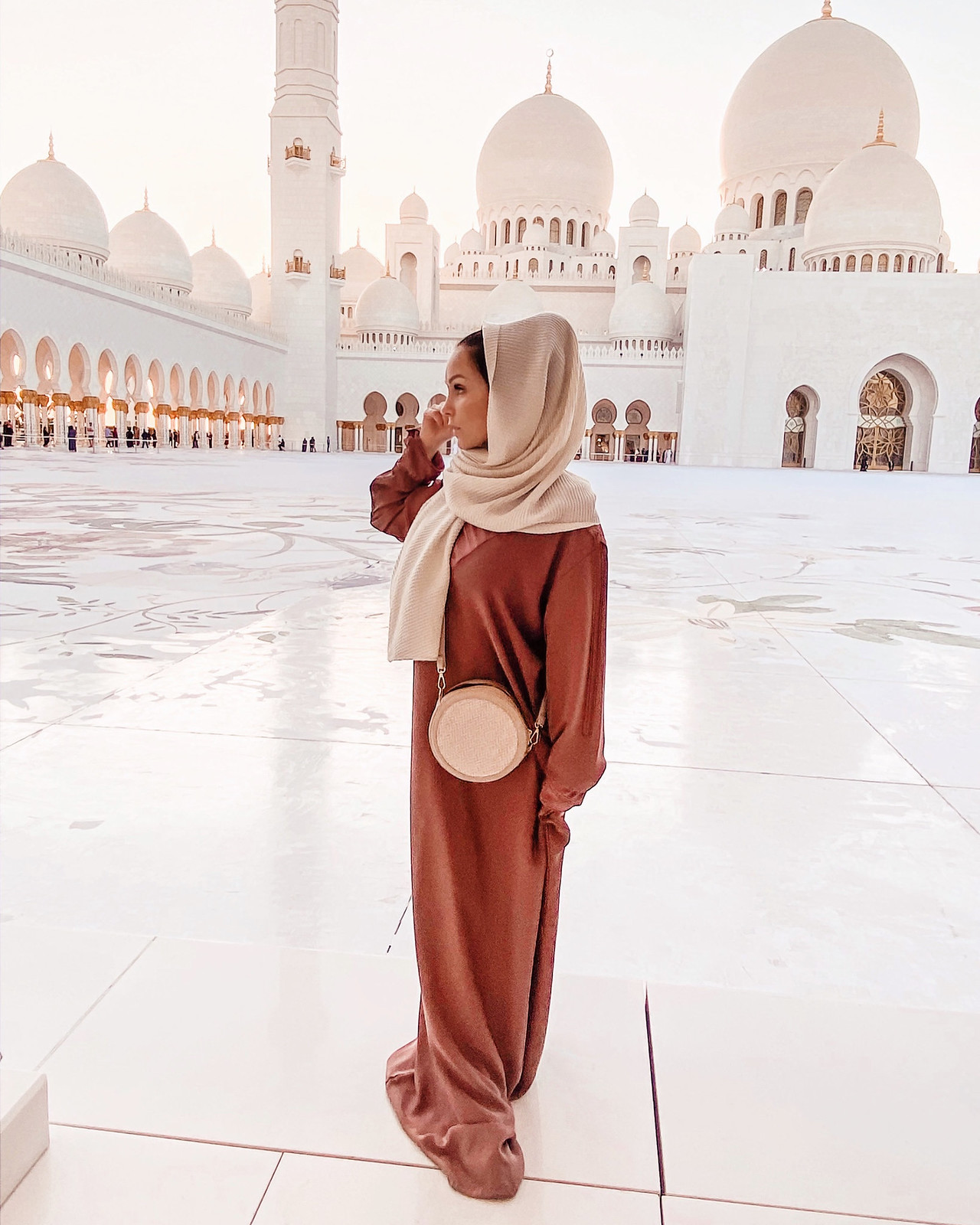 Abu Dhabi pukeutuminen