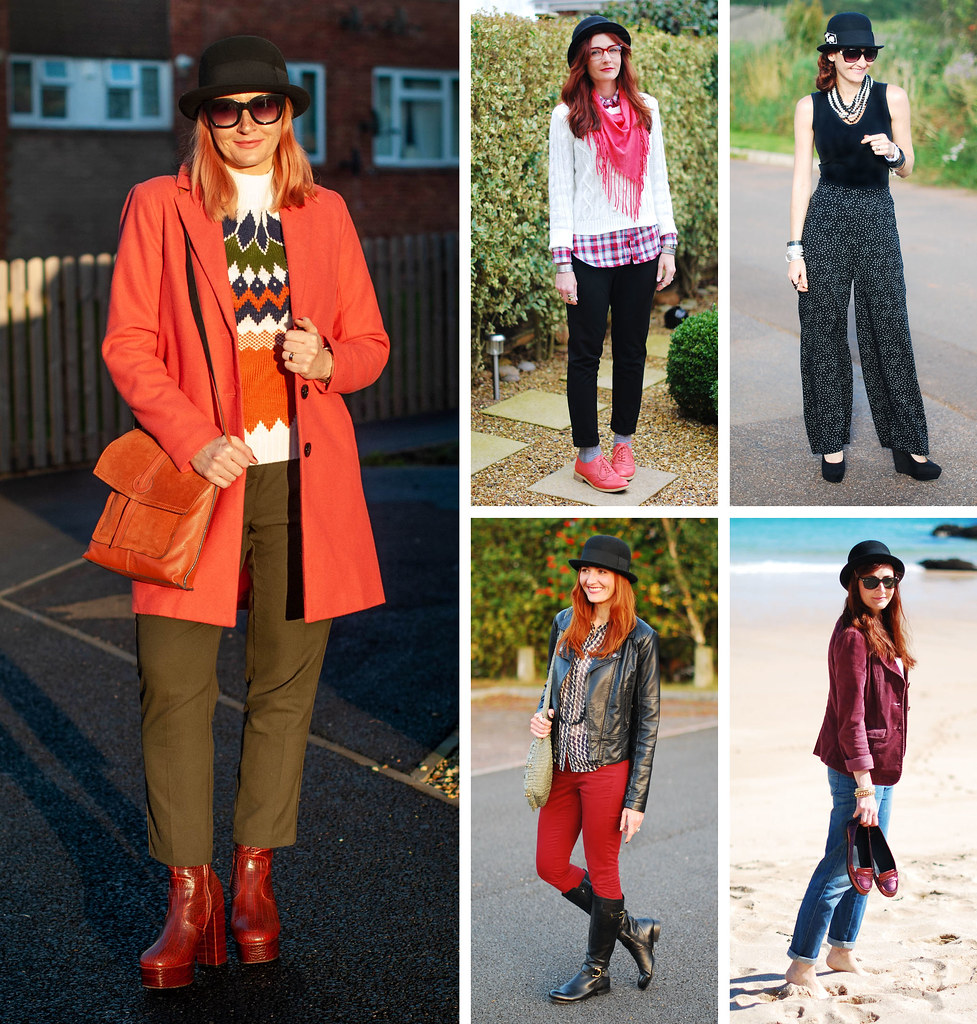 5 Ways to Wear a Bowler Hat   Not Dressed As Lamb, Style for Over 40 Women