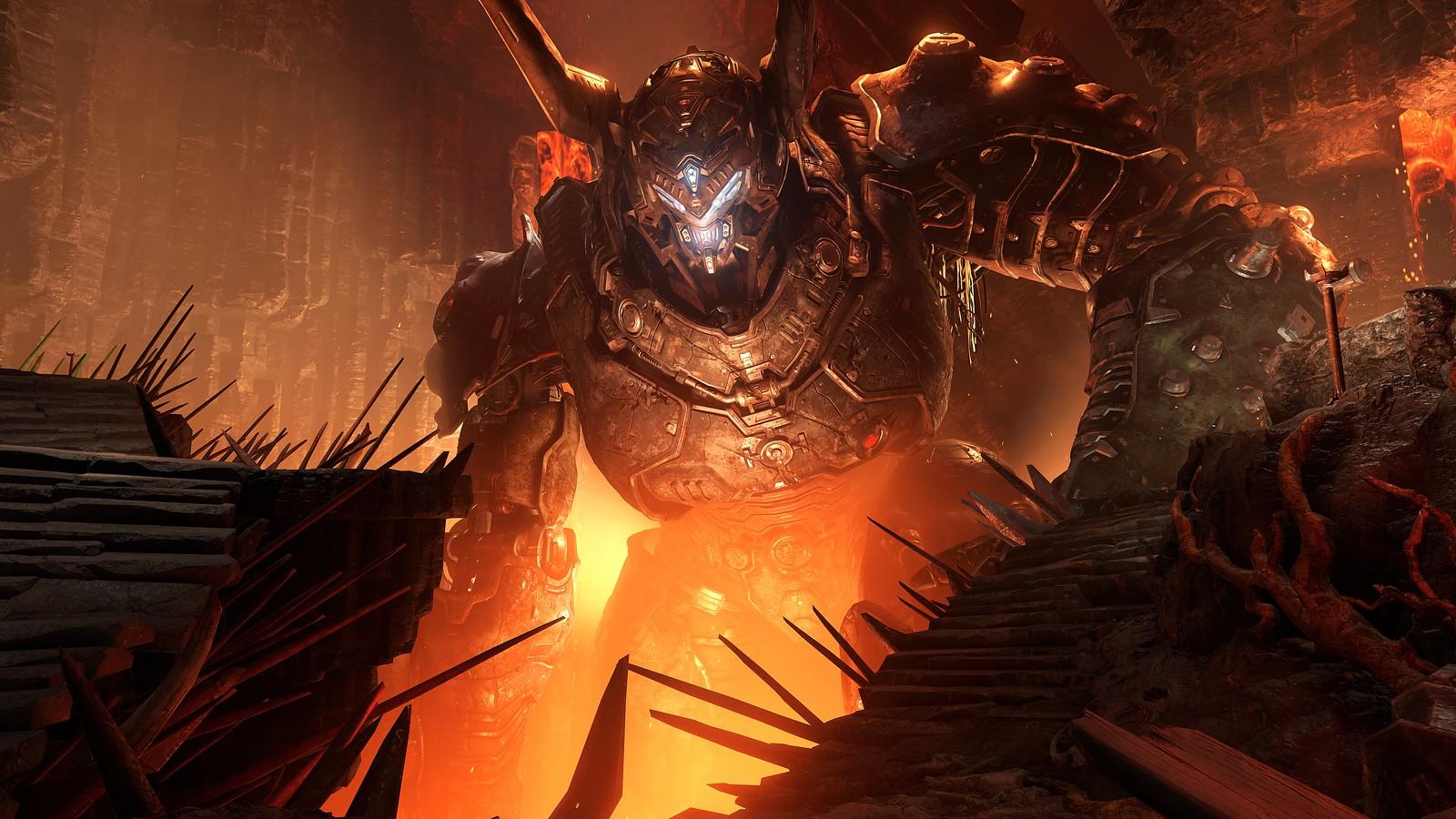 Doom Eternal - Cave
