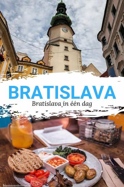 Bratislava in één dag | Tips voor een dag in Bratislava, Slowakije