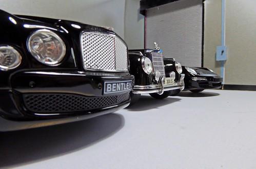 Bentley. Mercedes. Porsche.