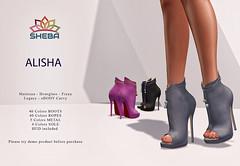 [Sheba] Alisha Booties @Sense