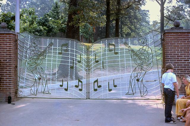 Graceland Gate In 1976
