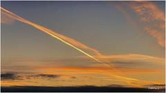 Striature nel cielo d'inverno - Streaks in the winter sky