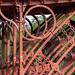 "<p><a href=""https://www.flickr.com/people/cspurway/"">Carol Spurway</a> posted a photo:</p>  <p><a href=""https://www.flickr.com/photos/cspurway/49419973193/"" title=""Close up of the iron work on the bridge""><img src=""https://live.staticflickr.com/65535/49419973193_5371304bba_m.jpg"" width=""240"" height=""160"" alt=""Close up of the iron work on the bridge"" /></a></p>"