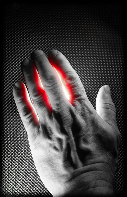 Hands of light.