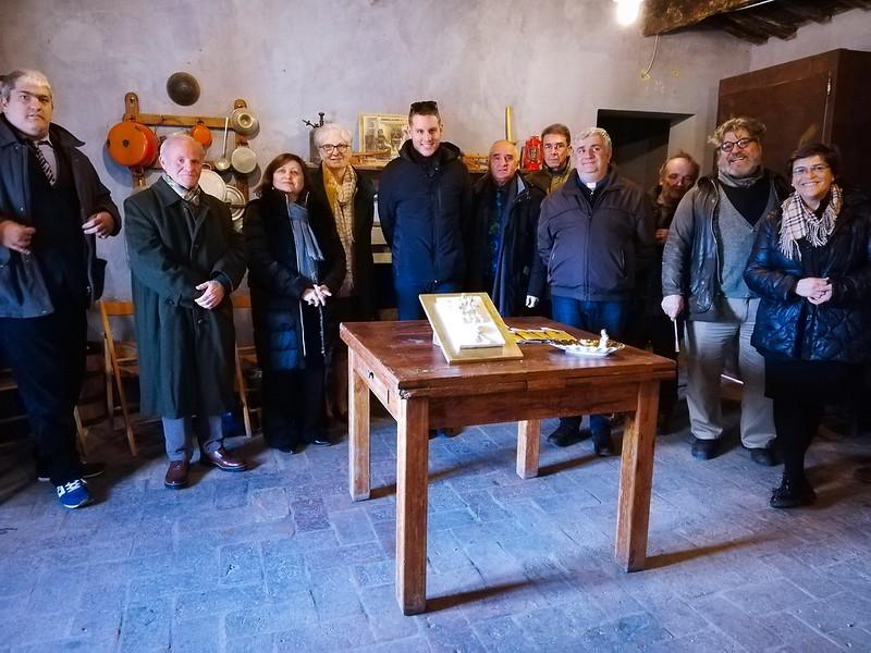 Consegnate le opere di Gianfranco Budini e Rolando Giovannini alla Parrocchia di Castel Bolognese e all'Associazione Amici del Mulino Scodellino