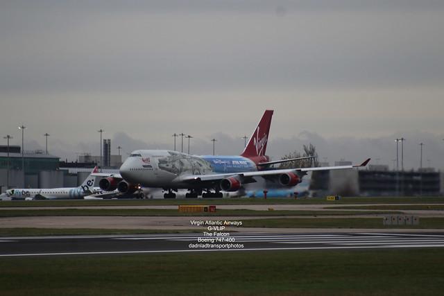 G-VLIP - The Falcon - Boeing 747-400