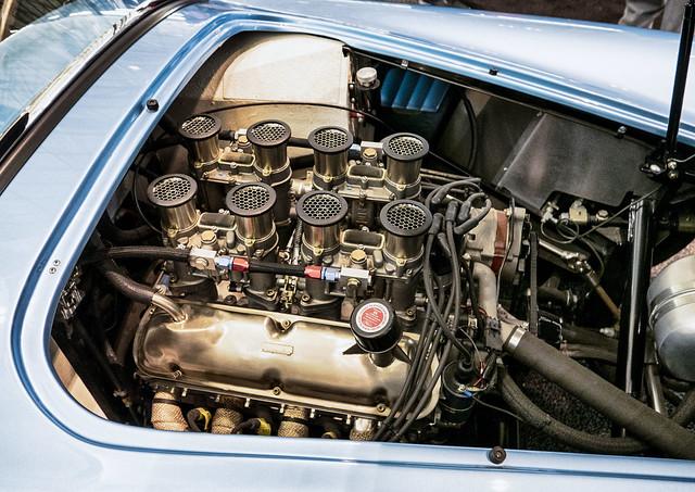 Racing Engine--Velocity Stacks