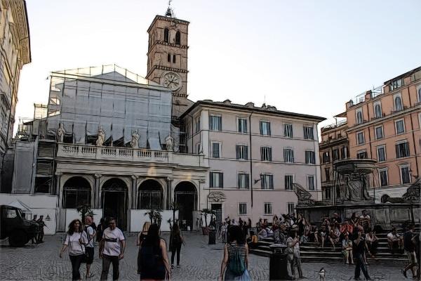 Roma_StaMTrastevere