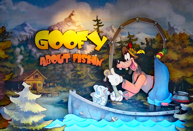 Goofy About Fishing