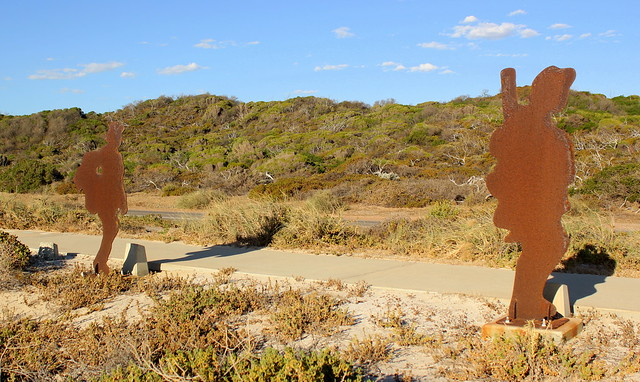 ANZAC Memorial Soldiers