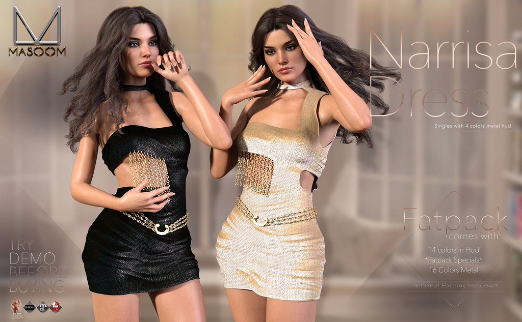 [[ Masoom ]] Narrisa Dress @ Belle