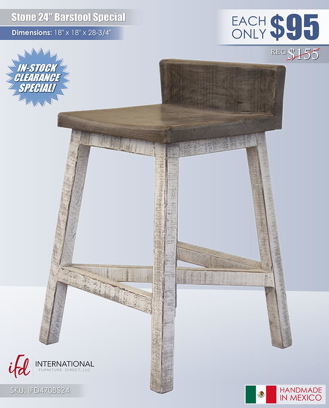 Stone 24in Barstool Special_IFD470BS24