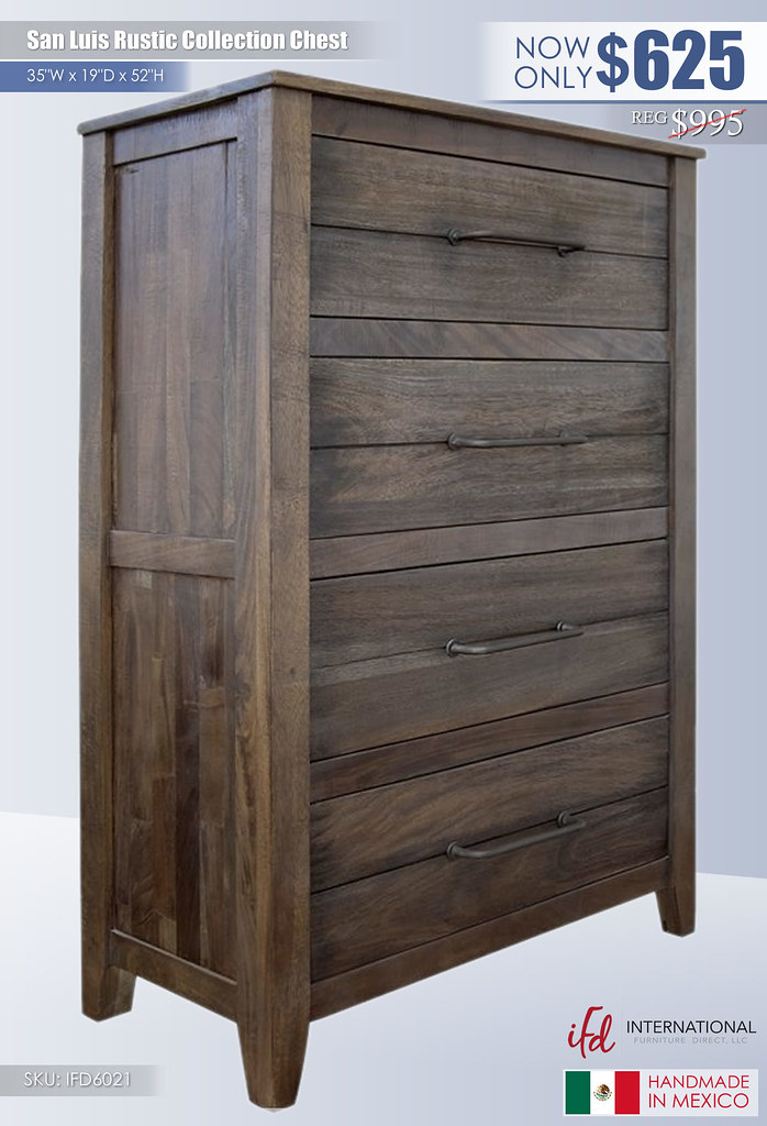 San Luis Rustic Chest_IFD 6021