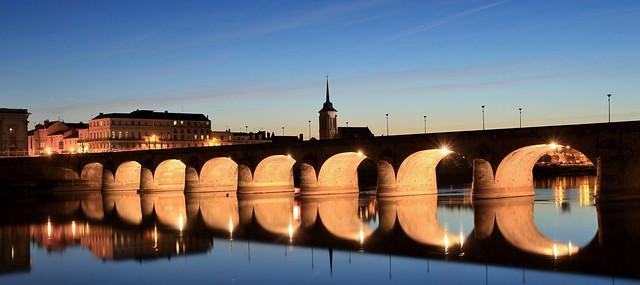 Saumur & Pont Cessart, Maine-et-Loire, Pays de la Loire