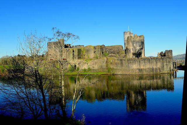 Caerphilly Castle 210120 1657