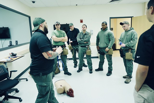Center for Disaster Medicine Training with Putnam County Emergency Response Team