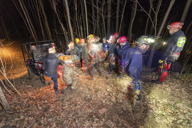 Cave Rescue, WH349, White County, Tennessee