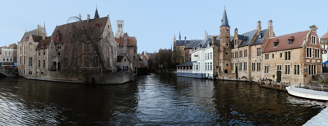'Rozenhoedkaai' -Bruges - Belgium