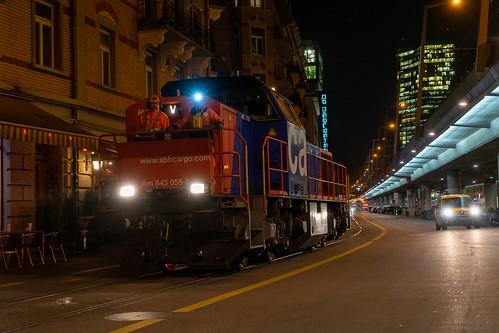 am843 am843055 dieselhydraulischelokomotive eisenbahn escherwyssplatz europa europe kantonzürich kontinent kreis5 lokomotive schweiz stadtzürich suisse switzerland transport chemindefer railroad railway