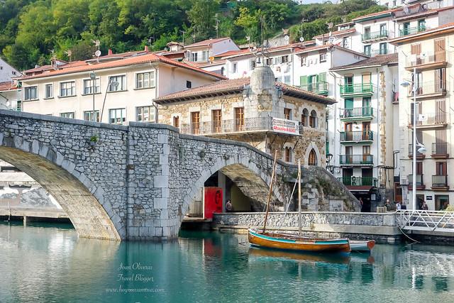 El puente viejo de Ondárroa