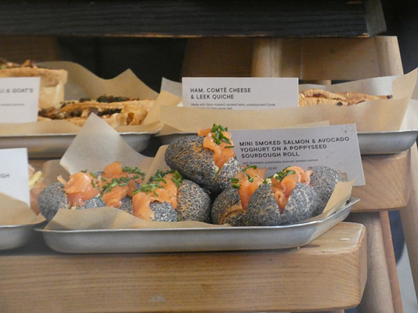 petits sadwiches au saumon