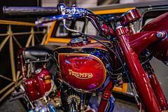 Triumph Motorcycle. Autoworld. Cinquantenaire, Brussels
