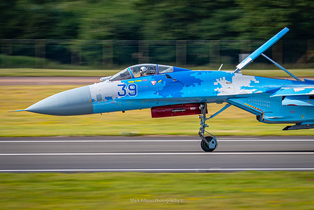 Ukrainian Su-27 Flanker