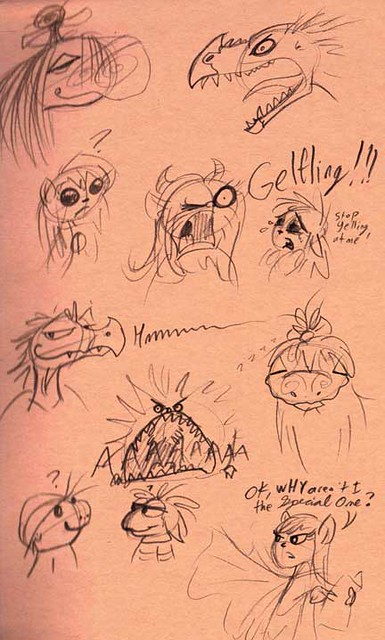1.21.20 - Goblin Week Brian Froud Studies