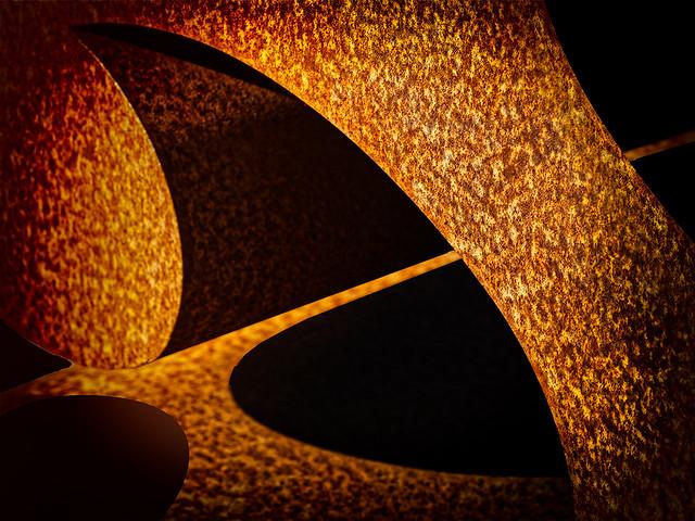 Sunlight on numbers 5, National Gallery of Art, Washington, December 2019  EM14964