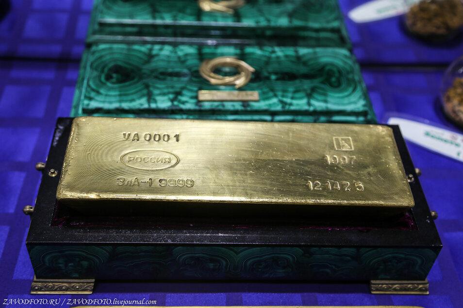 Россия так активно скупает золото, словно готовится к войне 1