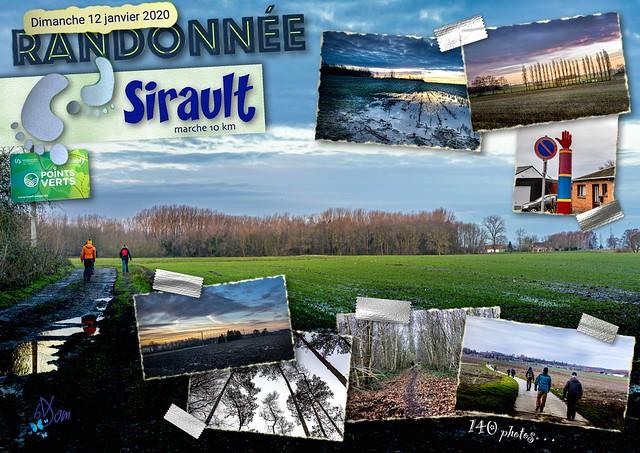 2020 - Sirault - 54ème randonnée « Points Verts »
