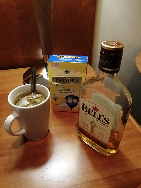 dernière camomille whisky