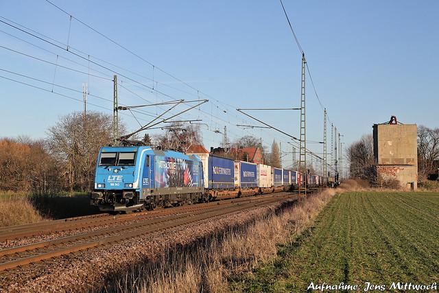 186 943-7 LTE Dreileben-Drackenstedt 21.01.2020