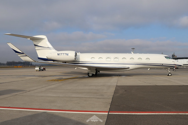 N1777M  -  Gulfstream 650ER  -  Private  -  ZRH/LSZH 21-1-20