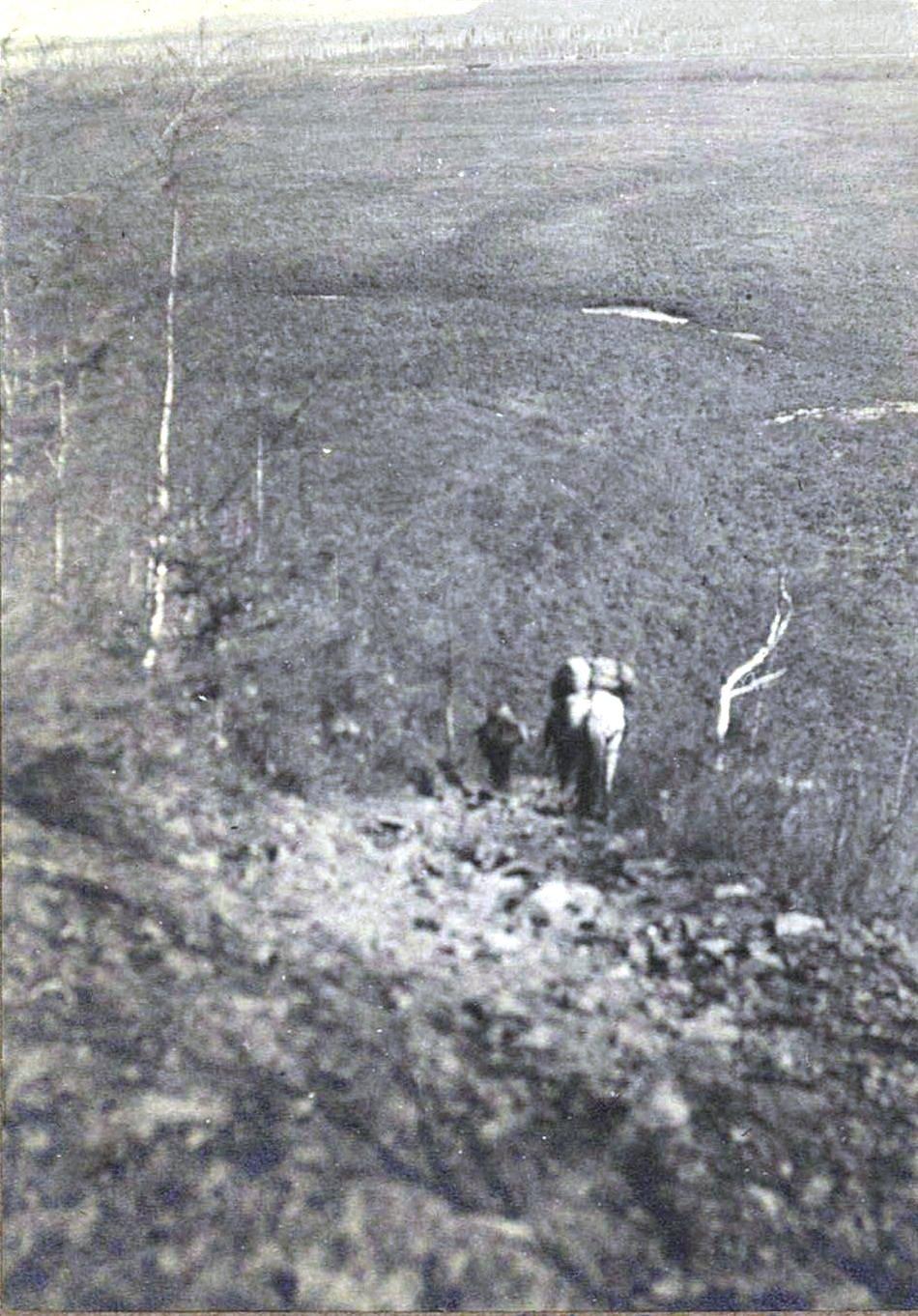 388. Спуск с горы Невер