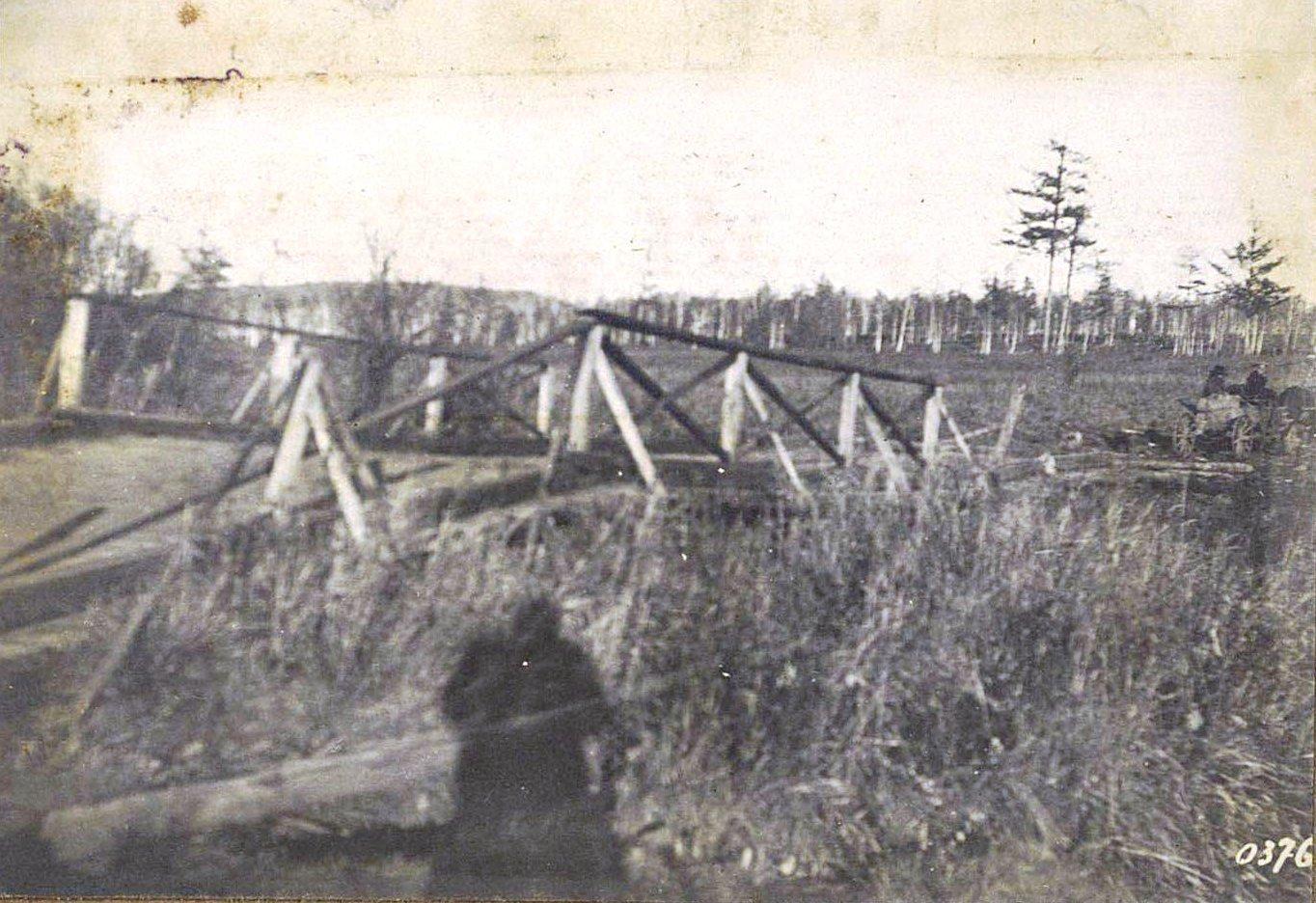 376. Мост через реку Ульдегичи четырьмя верстами выше Албазин