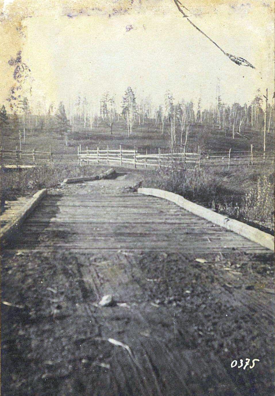 375. Мост через реку Бургали в девяти верстах выше Джалинды