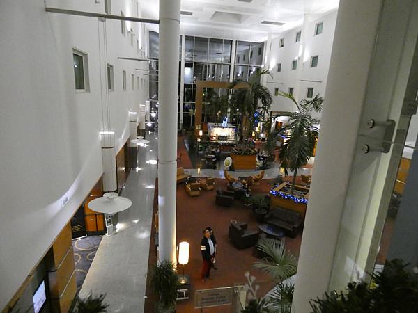 lobby hôtel crawley
