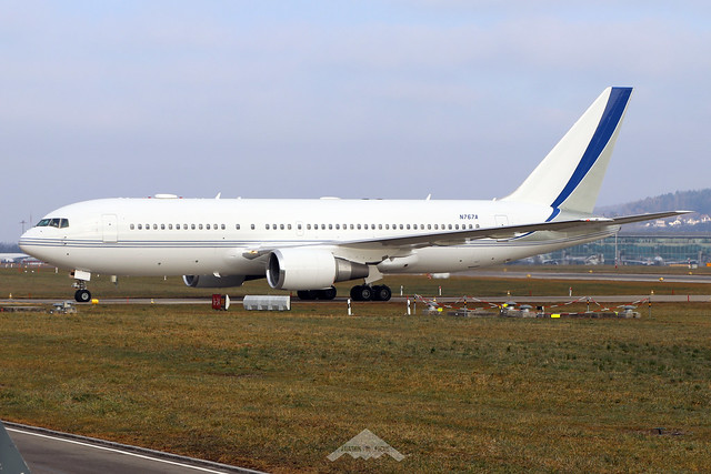 N767A  -  Boeing 767-2AX(ER)  -  Saudi Aramco  -  ZRH/LSZH 21-1-20