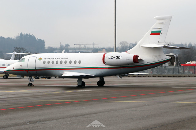 LZ-001  -  Dassault Falcon 2000EX  -  Government of Bulgaria  -  ZRH/LZSH 21-1-20
