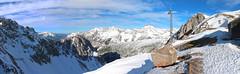 Northward Panorama Above Innsbruck