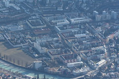 Innsbruck Old Town From Above
