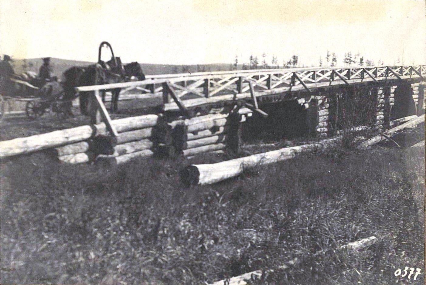 377. Мост через реку Менаул