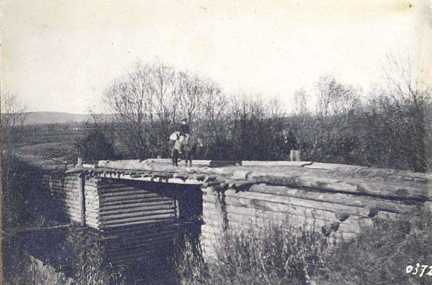 372. Мост через протоку ниже Бейтоновского