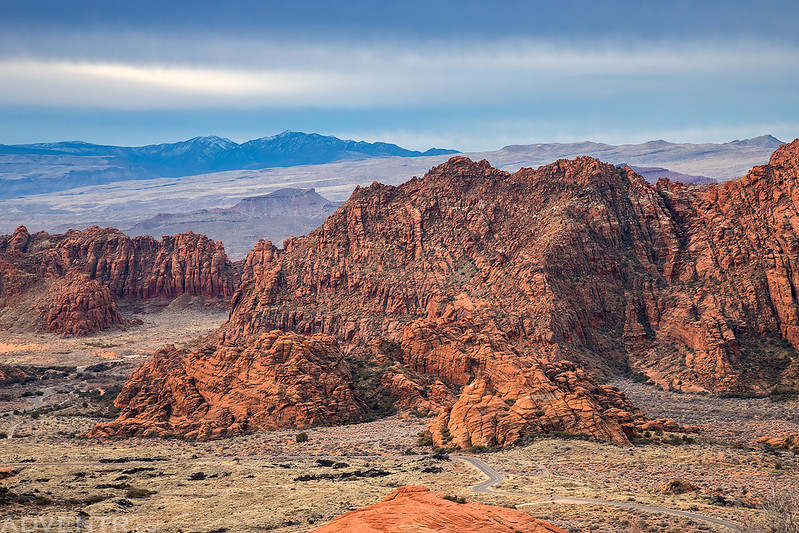Snow Canyon Overlook