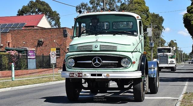 Mercedes-Benz at Longwarry